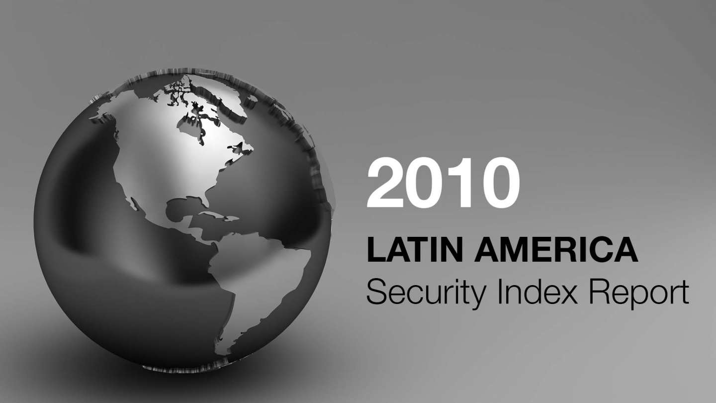 Frank holder 2010 Latin America Security Index