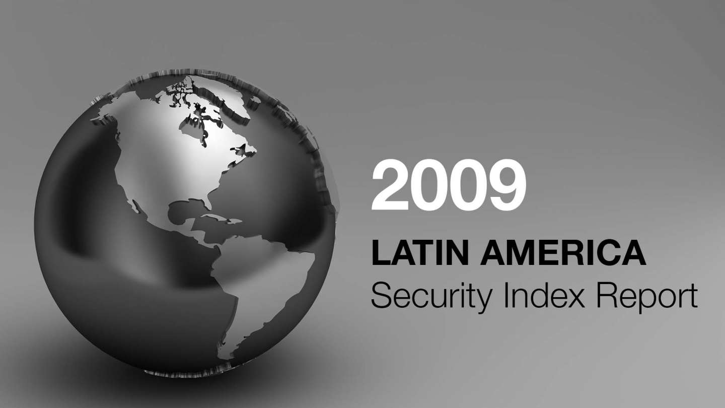 Frank holder 2009 Latin America Security Index